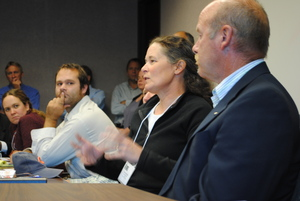 Farmers speak with Secretary Merrigan